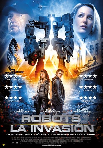Robots La Invasion web