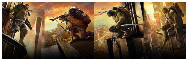 Ninja Turtles. Fuera de Sombras Web