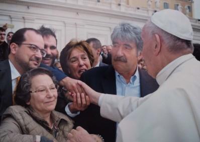 Poveda entregada al Papa