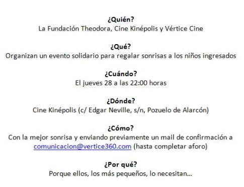 Resumen Vertice Cine y Fund Theodora