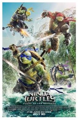 Ninja Turtles. Fuera de las sombras Web