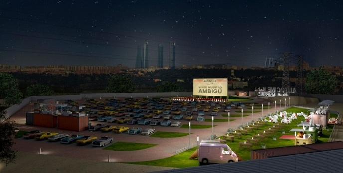 Autocine Madrid 2