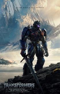 Transformers. El último caballero Web