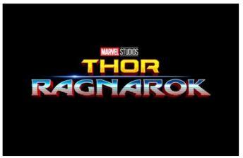 Thor Ragnarok -logo-
