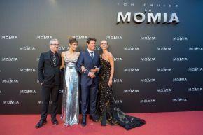 Premiere La momia en Madrid 29 mayo 2017