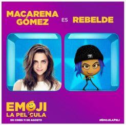 Emoji -Macarena Gómez es Rebelde