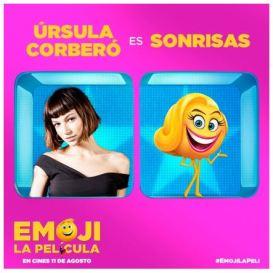 Úrsula Corberó -dobla a Sonrisas- en Emoji La película