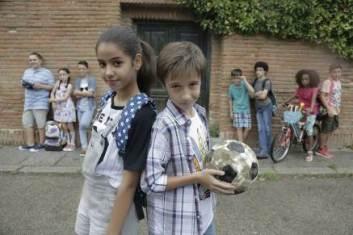 Los Futbolísimos -rodaje-
