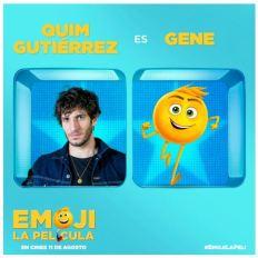 Quim Gutiérrez es Gene -Emoji La película-