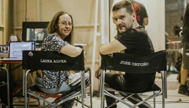 Laura Alvea y José Ortuño -directores-