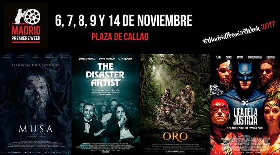 VII Madrid Premiere Week 2017 -cartel-