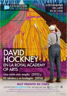 David Hockney en la Royal Academy of Arts