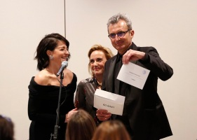 Vicepridentes de la Acedmiade Cine - Anuncio película en Premios ARIEL-