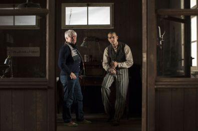 El fotógrafo de Mauthausen -la directora y Mario Casas-