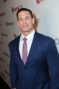 John Cena arrives at the Paramount Pictures CinemaCon Presentation in Las Vegas, Nevada on Wednesday, April 25, 2018. .(Photo: Alex J. Berliner/ABImages).