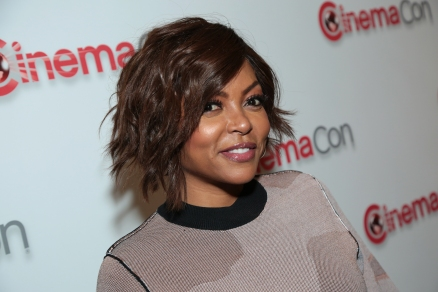 Taraji P. Henson arrives at the Paramount Pictures CinemaCon Presentation in Las Vegas, Nevada on Wednesday, April 25, 2018. .(Photo: Alex J. Berliner/ABImages).