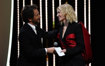Cannes 2018 - Cate Blanchet y Edouard Baer