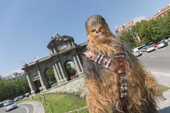 Chewbacca visita Madrid para presentar HAN SOLO UNA HISTORIA DE STAR WARS -may 2018- (2)
