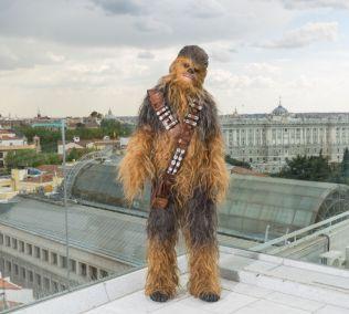 Chewbacca visita Madrid para presentar HAN SOLO UNA HISTORIA DE STAR WARS -may 2018- (3)