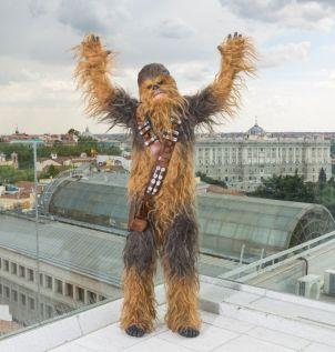Chewbacca visita Madrid para presentar HAN SOLO UNA HISTORIA DE STAR WARS -may 2018- (4)