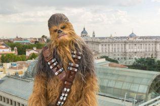 Chewbacca visita Madrid para presentar HAN SOLO UNA HISTORIA DE STAR WARS -may 2018- (5)