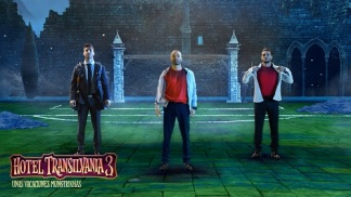 Iniesta, Asensio y Koke -Hotel Transilvania 3-