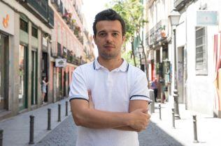La crisis -corto- rodaje (4) Fernando Tielve