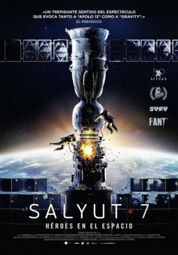 Salyut-7, hérores en elespacio