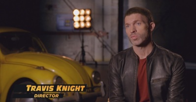 Travis Knight -director- extraída del tráiler