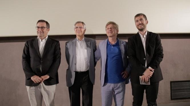 Presentación de Arizmendiarreta, un hombre cooperativo en Madrid - Cine Paz