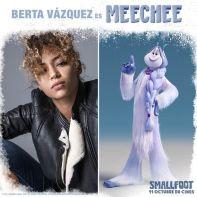 Berta Vázqez en Smallfoot -voz-