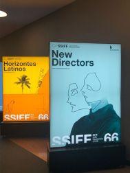 FSS 2018 - carteles secciones New Directors y Horizontes Latinos -