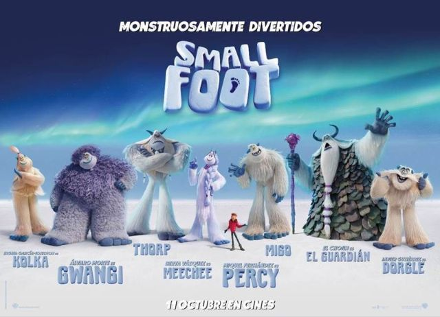 Smallfoot -personajes-
