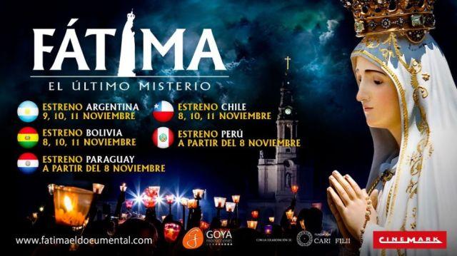Fátima. El último misterio -estreno internacional-